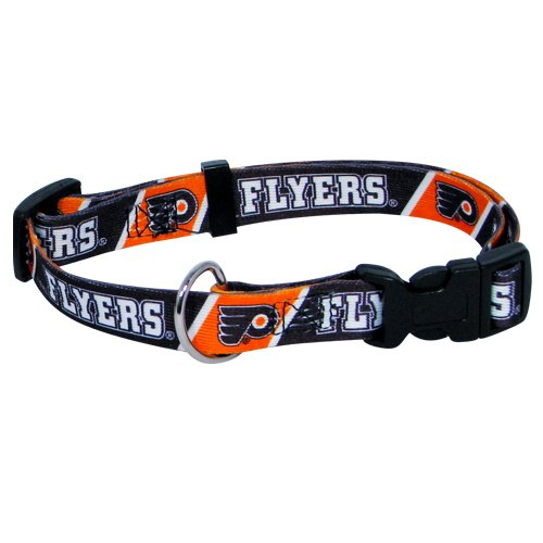 Hunter MFG Philadelphia Flyers Dog Collar, Extra Small