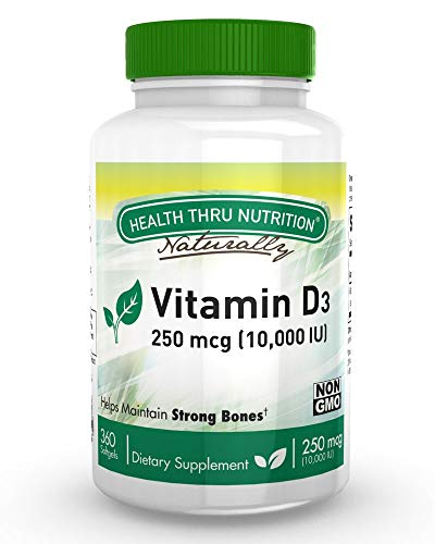 Health Thru Nutrition Vitamin D3...