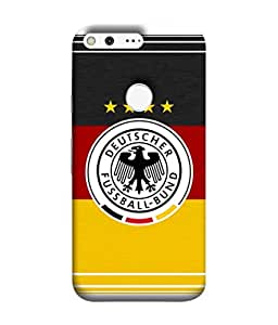 ColorKing Football Germany 15 Multicolor shell case cover for Google Pixel