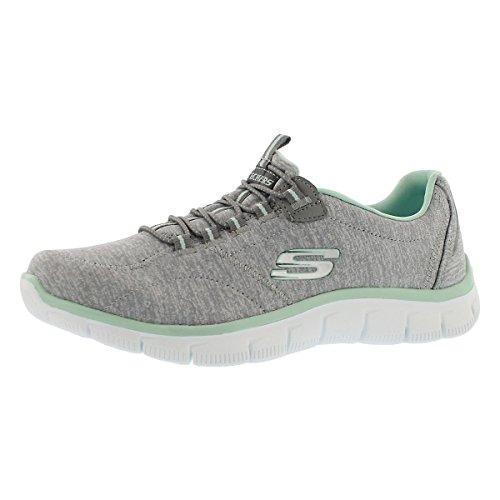 Skechers Women's Sport Empire - Rock Around Relaxed Fit Fashion Sneaker, Grey...