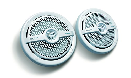 Sony XSMP1621 6 1/2-Inch coaxial 2-way Marine Speaker