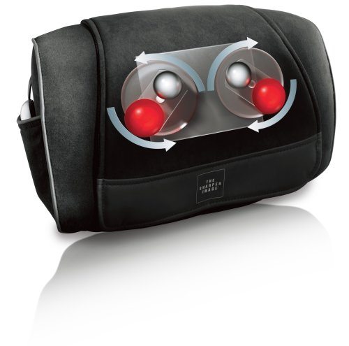 The Sharper Image Msg P110 Neck Back And Shoulders Shiatsu Massager