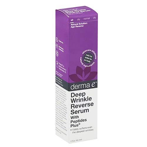 Derma E Advanced Peptide and Collagen Serum, 2.0 ounces. Pack of - Deep Wrinkle Peptide