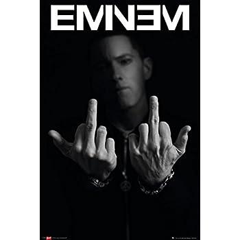 Amazon Laminated Eminem Fingers Poster 24 X 36in Prints