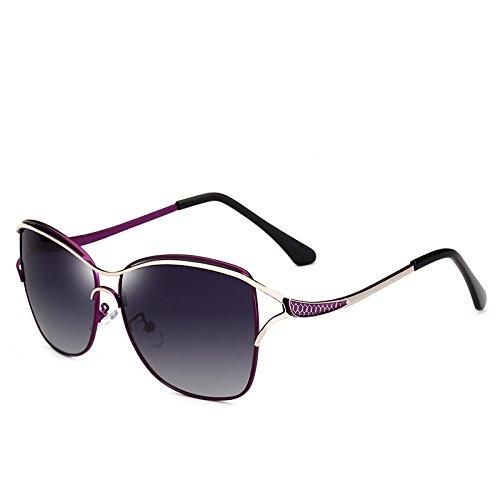 de Gafas Polaroid conducción Sol Moda de de de de Libre Purple Gafas Gafas de Aire MXNET al UV400 Viaje Vintage Sol para Sol para Grandes Adultos Mujeres f1OqdA