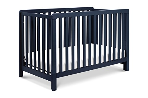 Review Carter's by DaVinci Colby 4-in-1 Convertible Crib, Navy Blue