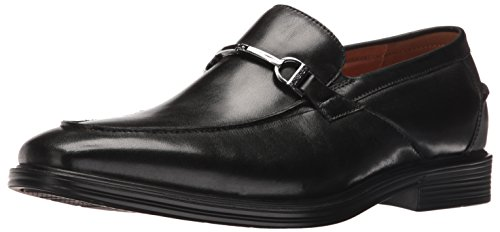 Florsheim Men's Holtyn Bit Slip-on Loafer, Black, 9.5 D US by Florsheim