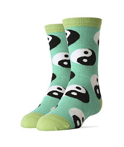Oooh Yeah Socks ! - Kids Crew -Ying Yang Fever