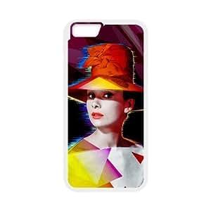 "Audrey Hepburn Original New Print DIY Phone Case for Iphone6 Plus 5.5"",personalized case cover ygtg-786434"
