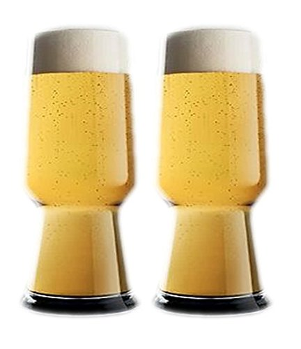 Collection Luigis Beverage (Luigi Bormioli (Set of 2 18.25 Ounce Birrateque Pilsner Glasses - Barware)
