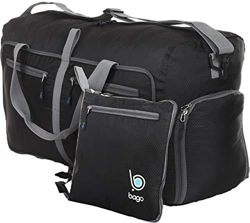 Bago 23'' Duffle Bag for Men & Women – 60L Packable Travel Duffel Bags – Carry On & Gym – DiZiSports Store