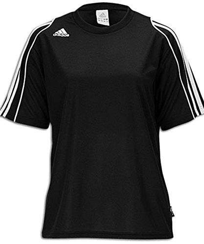 Adidas Women's Squadra Ii Short-Sleeve Jersey Top, Black/...