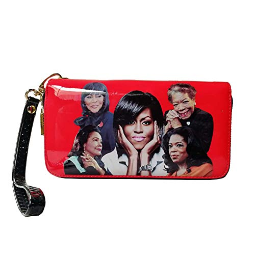 (Michelle Obama and African American Women Icons Style Wallet)