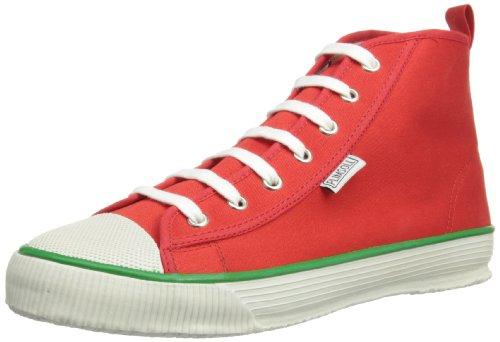 Plimsoll Hi Herren Sneaker Rot