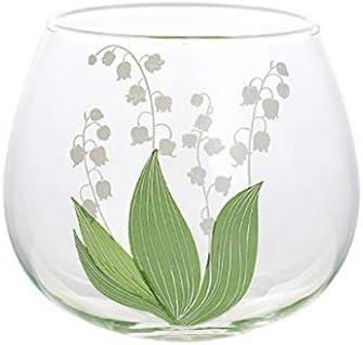 Vaso para beber, copa de vino sin tallo para café caliente o bebidas frías, café helado, whisky, zumo - Juego de 2