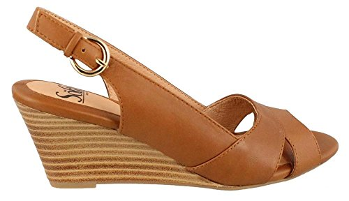Sofft - Sandalias de vestir para mujer Luggage