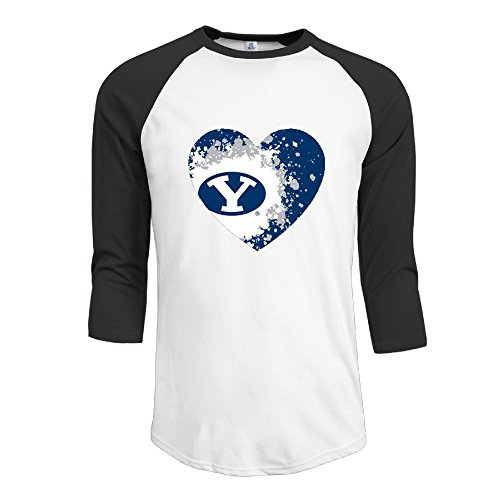 Men's BYU Provo Bound Love Baseball Tee Classical T Shirt - Gators Bound Florida Tee