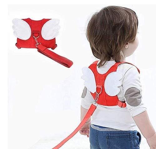 Arn/és ajustable para beb/é con correa de seguridad mochila de algod/ón suave para ni/ños de 1 a 5 a/ños de edad y ni/ñas