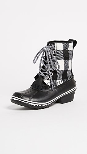 Women's SOREL Boot Mid 1964 White Black Calf Slimpack 1wqwSdU