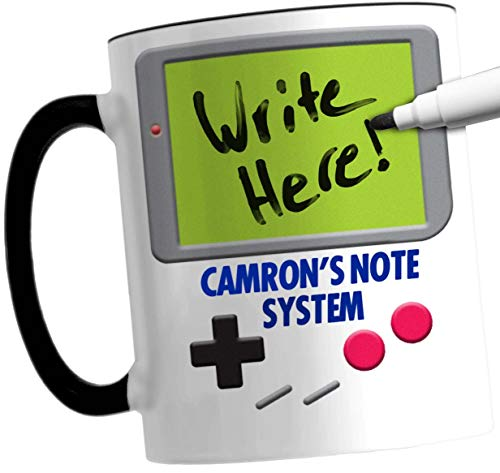 CAMRON Retro Video Game Parody Mug And Dry Erase Marker