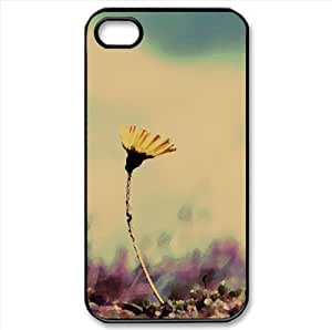 Flower and Ants Watercolor style Cover iPhone 4 and 4S Case (Flowers Watercolor style Cover iPhone 4 and 4S Case)