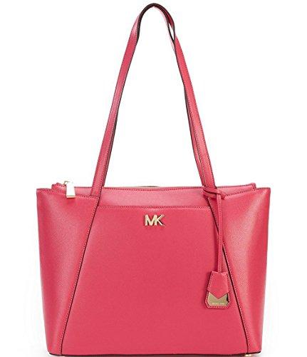 Michael Michael Kors Maddie Medium Leather Tote (Rose Pink)