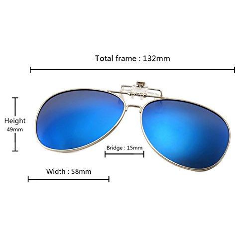 sol libre al de Aiweijia Azul polarizadas deportes en sol aire Gafas para abatibles de gafas w0qqSnROP