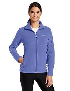 Columbia Women's Fast Trek II Full Zip Fleece Jacket, Bluebell, Small
