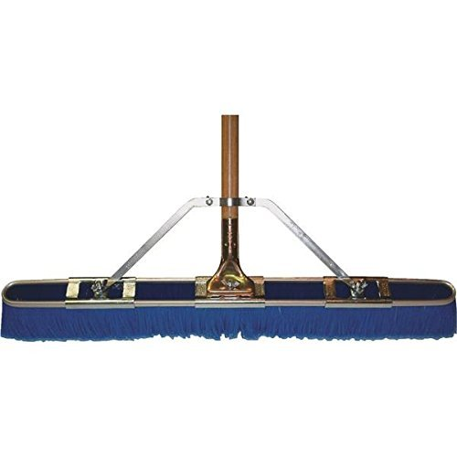29'' Floor Brush w/Brace & Handle, Blue by Bruske