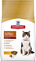Hill's Science Diet Alimento Seco para Gato, Adult Hairball Control, Sabor Chicken, 7 kg