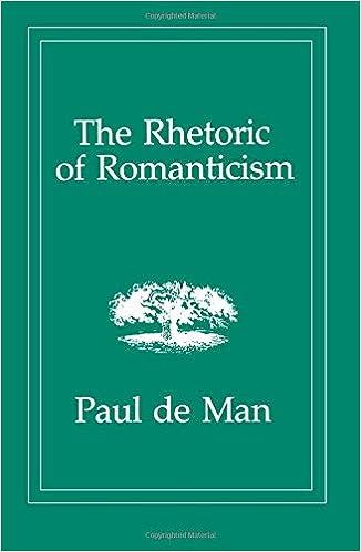 Reason, Rhetoric and Romanticism