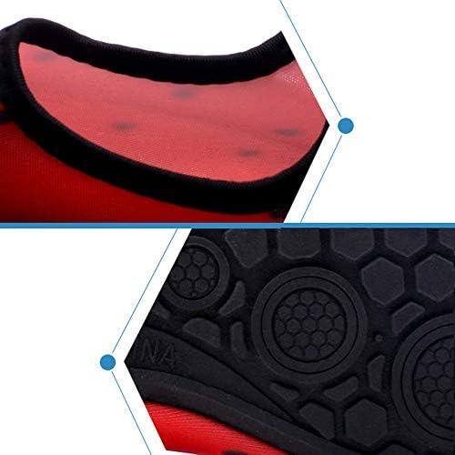 カップルのアップストリームのハイキングハイキングシューズアウトドアスポーツやレジャー、女性と男性のサーフビーチシュノーケリング水泳シューズクイックドライ排水通気性ソフト軽量 ポータブル (色 : Multi-colored, Size : US6-6.5)