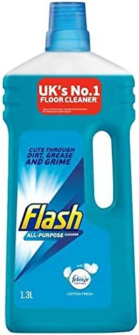 Flash multiusos líquido de limpieza algodón fresco 1.3L: Amazon.es ...
