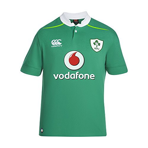 Ireland Home Classic S/S Rugby Jersey (XLarge) - Classic Supporters Rugby Shirts
