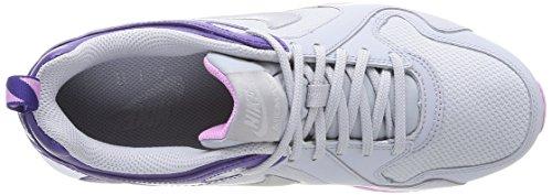 NIKE 631763 007 - Zapatillas de correr de material sintético mujer multicolor - Mehrfarbig (WLF GREY/MTLCC SILVER)