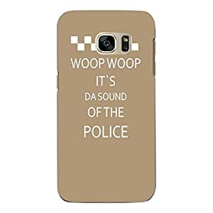 """Disagu Design Protective Case para Samsung Galaxy S7 Funda Cover """"WOOP WOOP IT´S DA SOUND OF THE POLICE"""""""