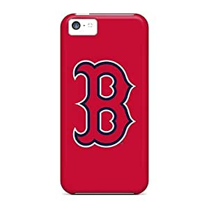 Faddish Phone Baseball Boston Red Sox 5 Case For Iphone 5c / Perfect Case Cover
