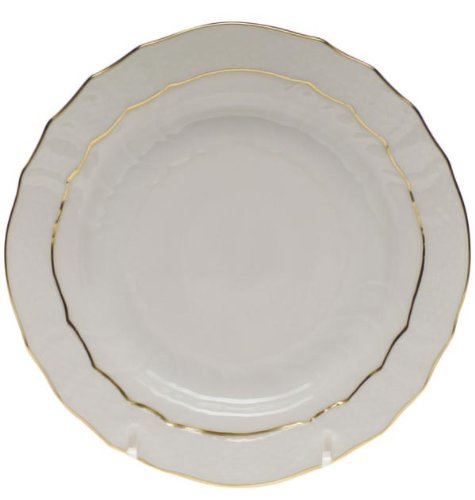 Herend China Golden Edge Bread and Butter Plate