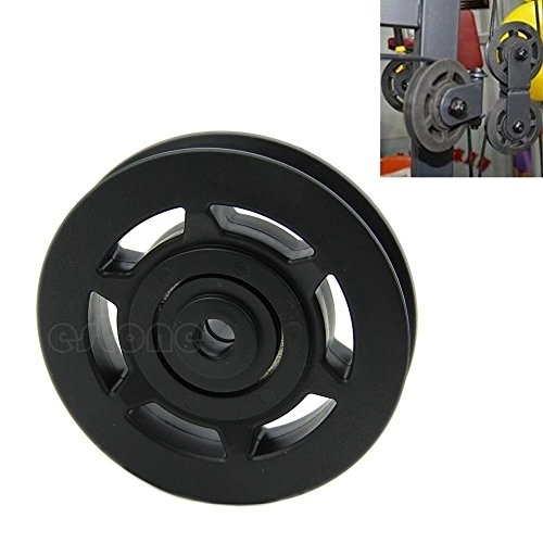 Durable 95mm Bearing Pulley Wheel Cable Gym Equipment Part Wearproof Universal by princessdress08
