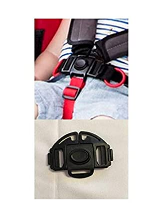 5 Point Clip Buckle Safety Harness Straps for Red Kite Baby Kid Strollers Prams