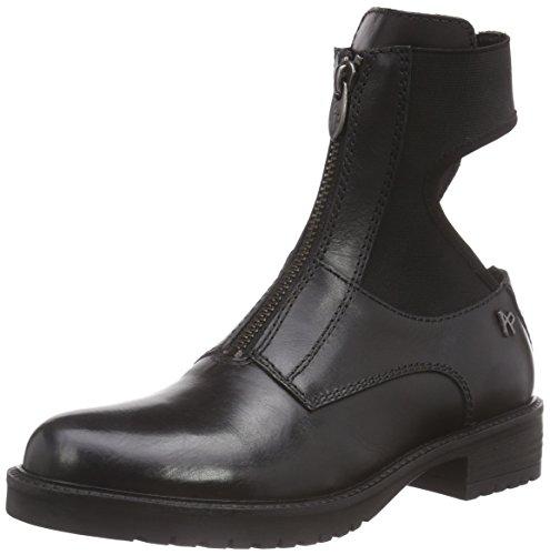 Nero Anna Apepazza Boots Women's Black Schwarz Vitello YwFwdq0