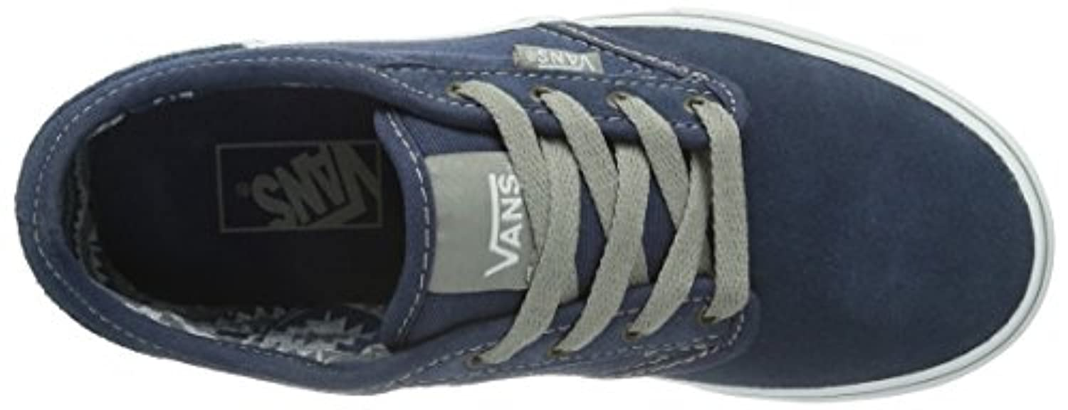 Vans Y Atwood Hi, Unisex-Childs' High-Top Trainers, Blau ((Suede) Pacific F1W), 1 UK