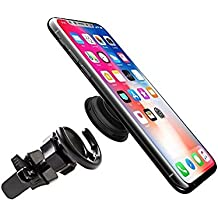 Wuave Pop Socket Car Mount Vent Holder with Adjustable Tightness Clip for PopSocket Users - Compatible with iPhone and Android