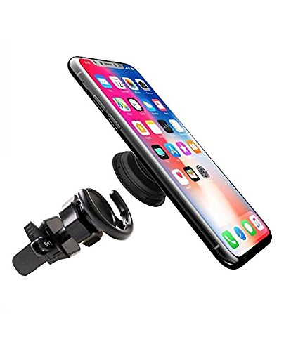 PopSocket Car Mount Vent Holder with Adjustable Tightness Clip for PopSocket Users - Compatible with iPhone and Android (Halloween Ocean Park 2017)