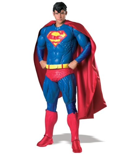 Rubie's Costume Collector's Edition Adult Superman, Blue/Red, One Size Costume