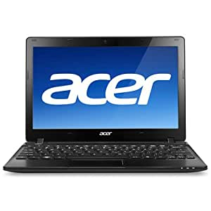 "Acer Aspire One AO725-0825 11.6"" Netbook (1.0 GHz Dual Core C-60 Processor, 2GB RAM, 320GB Hard Drive, Windows 7 Home Premium)"