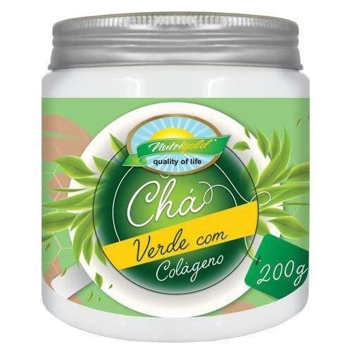 Chá Verde com Colágeno - 200g - Nutri Gold