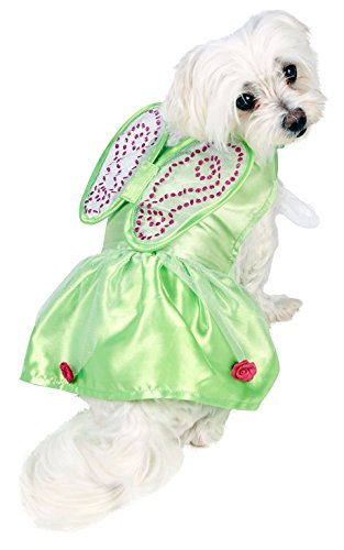 Rubie's Official Tinkerbell Dog Costume - X-small, Green