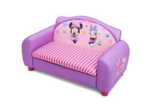 Delta Children's  Products Minnie Mouse Upholstered Sofa(Discontinued by manufacturer) by Delta Children