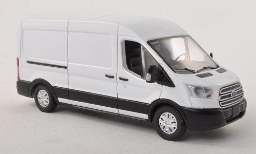 Fertigmodell Greenlight 1:43 2015 Modellauto Ford Transit Kasten weiss